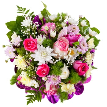 Ukraine flowers  -  Spring Glow Baskets Delivery