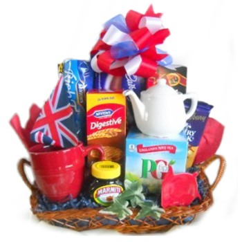 Washington flowers  -  Still Time for Tea Baskets Delivery