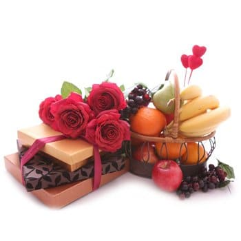 Martinique online Florist - Succulent Sweets Bouquet