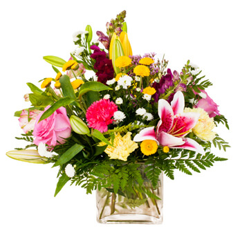 Moscow flowers  -  Summer Warmth Baskets Delivery