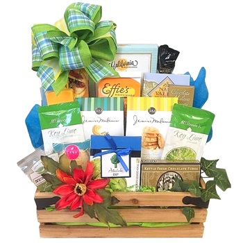 Los Angeles flowers  -  Sunshine Treats Baskets Delivery