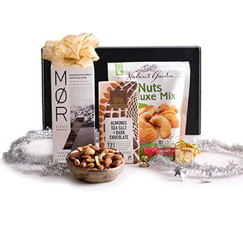 Laos online Florist - Sweet and Salty Gift Set Bouquet