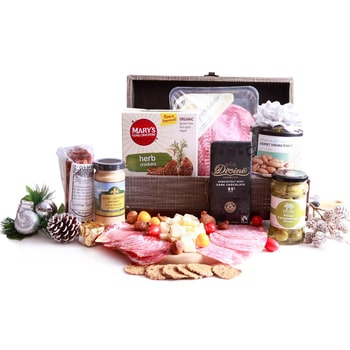 Oslo, Norway flowers  -  Sweet and Savoury Christmas Delights Baskets Delivery