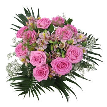 Moscow flowers  -  Sweetheart Baskets Delivery