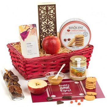 Leeds, United Kingdom flowers  -  Sweetness of Honey Hamper Baskets Delivery