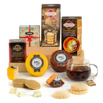 Sheffield flowers  -  Taste of British Cheeses Assortment Flower Delivery