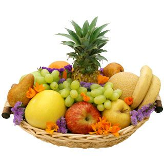 Houston flowers  -  Thinking of You Fruit Basket Baskets Delivery