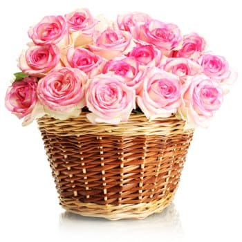 Norway flowers  -  Love In Pink Baskets Delivery