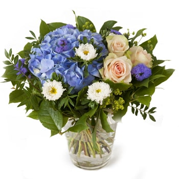 Oslo online Florist - Touch of Warmth Bouquet