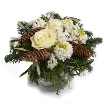 Norway flowers  -  Traditional Winter Arrangement Baskets Delivery