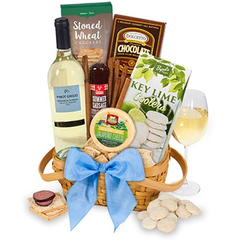 Minneapolis flowers  -  Traveled to You Gift Basket Baskets Delivery