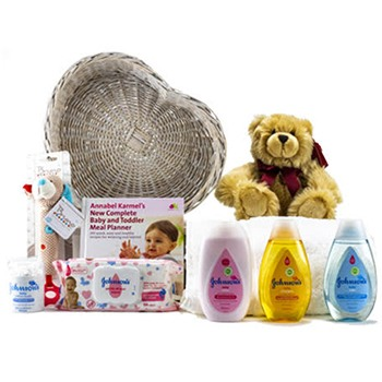 United Kingdom flowers  -  Bathtime Baby Baskets Delivery