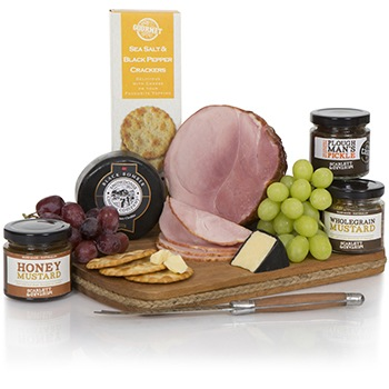 Bradford flowers  -  Belgian Smoked Ham Deluxe Gift Set Flower Delivery