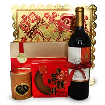 Leeds, United Kingdom flowers  -  Chinese New Year Delight Baskets Delivery