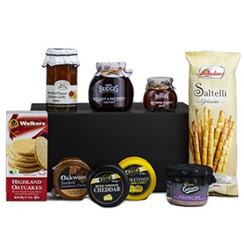 United Kingdom flowers  -  Five Star Cheese Event Baskets Delivery