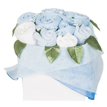 Sheffield flowers  -  Flower Gift Bouquet for a Baby Boy Delivery