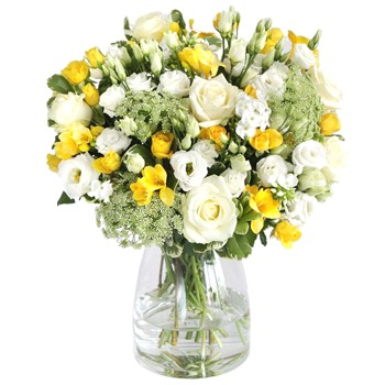 Sheffield flowers  -  Friendly Freesia Bouquet Flower Delivery