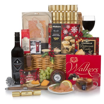 Bradford flowers  -  Joyous Greetings Gourmet Hamper Flower Delivery