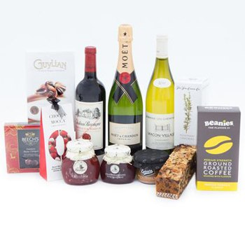 Liverpool blommor- Liquid Celebrations basket korgar Leverans