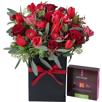 Bradford flowers  -  Love, Roses, and Chocolate Flower Delivery