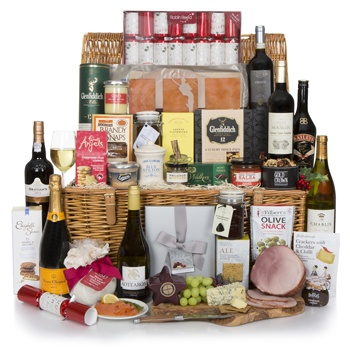 Bradford flowers  -  Luxury Gourmet Hamper Flower Delivery