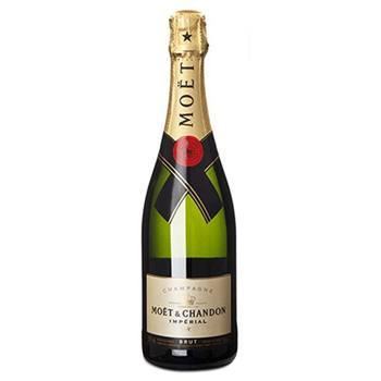 London blomster- Moet Chandon Brut Imperial kurver Levering