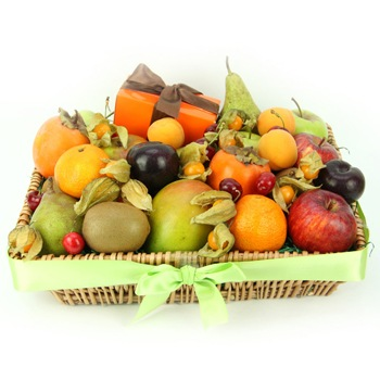 Bradford flowers  -  Naturally Sweet Cravings Baskets Delivery
