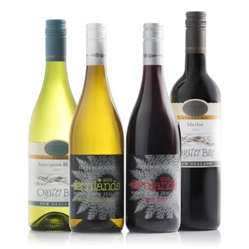 Bradford flowers  -  New Zealand Zest Wine Bundle Flower Delivery