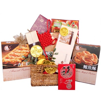 Bradford flowers  -  Oriental Delights Baskets Delivery