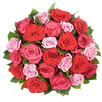 United Kingdom flowers  -  Passion Burst Baskets Delivery