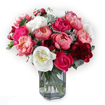 Leeds flowers  -  Peonies Paradise Baskets Delivery