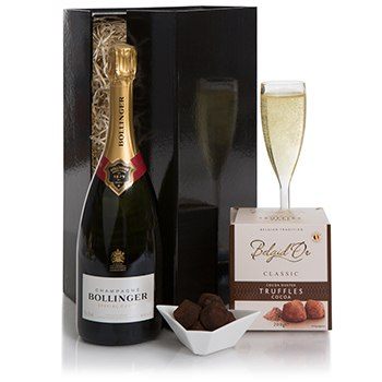 Bradford flowers  -  Premium Champagne Flower Delivery