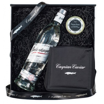 London blomster- Premium vodka kurver Levering