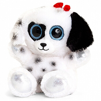 Sheffield, United Kingdom flowers  -  Puppy Plushie Perfection Baskets Delivery