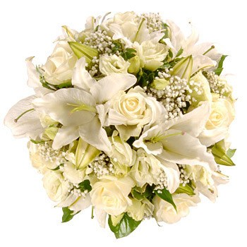 Bradford flowers  -  Pure Love Tribute Bouquet Baskets Delivery