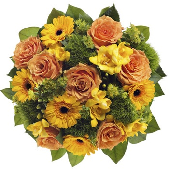 United Kingdom flowers  -  Sunshine Rays Baskets Delivery