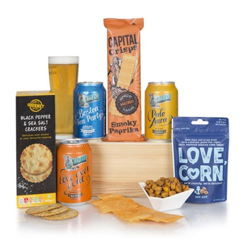 United Kingdom flowers  -  Tasty Brews Baskets Delivery