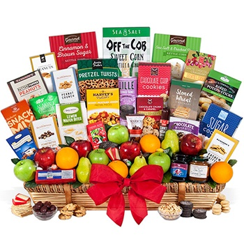Houston flowers  -  Unbelievable Fruit and Gourmet Gift Set Baskets Delivery
