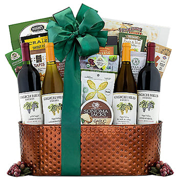 Indianapolis, United States flowers  -  A Trip To Napa Valley Baskets Delivery