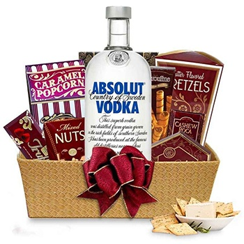 Detroit bunga- Absolut Gourmet Baskets Penghantaran