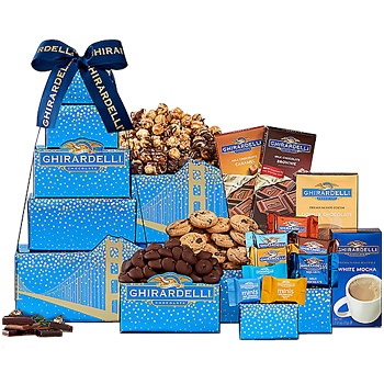 Oakland flowers  -  All Things Ghirardelli Baskets Delivery