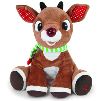 Columbus flowers  -  Babys First Christmas Rudolph Musical Plush Baskets Delivery