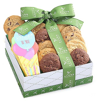 Oakland flowers  -  Birthday Cookies Baskets Delivery