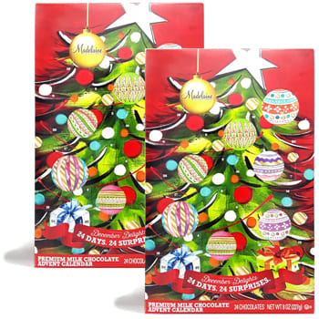 USA, United States online Florist - Christmas Advent Calendar Bouquet
