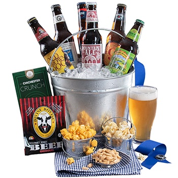USA flowers  -  Beer Bucket Flower Delivery