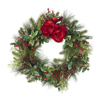 Columbus flowers  -  Christmas Wreath Baskets Delivery