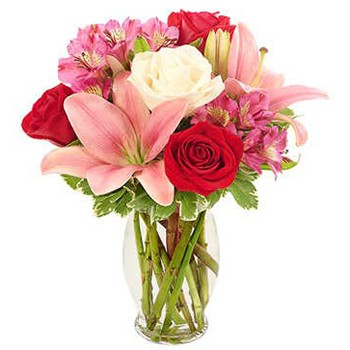 Austin flowers  -  Classic Elegance Bouquet Baskets Delivery