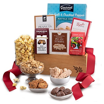 Austin flowers  -  Coated and Cozy Gift Basket Baskets Delivery