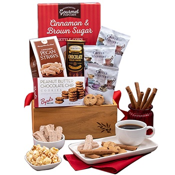 Austin flowers  -  Coffee Time Gift Basket Baskets Delivery