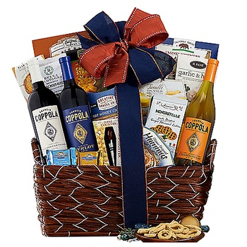 Detroit flowers  -  Wine Collection Baskets Delivery